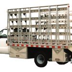 12 Foot One Ton Stone Truck With Interior Stone Carriers and Toolboxes