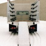 12 Foot Aluminum Flatbed With Pull-Out Ramp