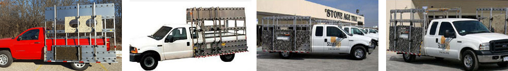Barkow stone carrier for pickup trucks image 1.