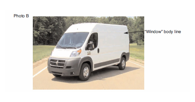 600 series mounting instructions for Dodge ProMaster image 2.