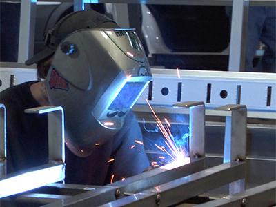 Handcrafted welding image 2.
